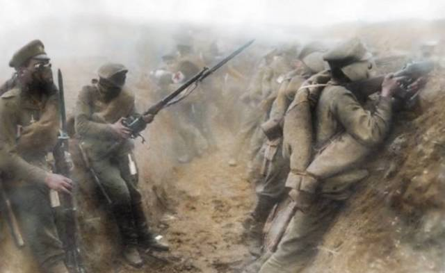 World War I In Color (44 pics)