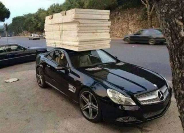 Don't Overestimate Your Car's Capacities (24 pics)