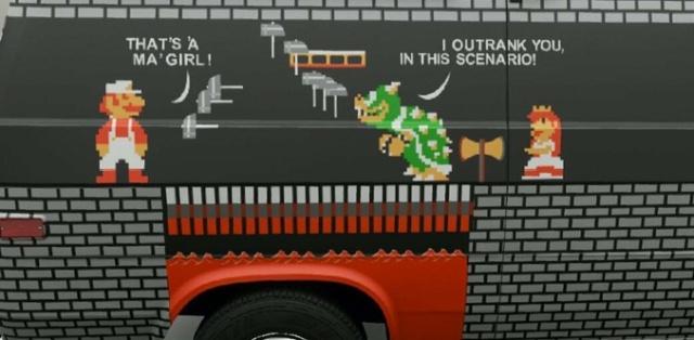 Smart Super Mario Car (2 pics)