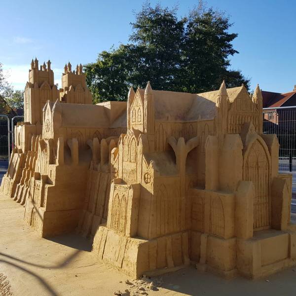 Awesome Sand Art (27 pics)