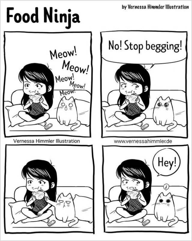 What It's Like To Live With A Cat (18 pics)