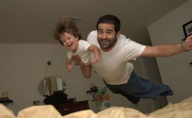 When You Leave Kids With Dad (40 pics)