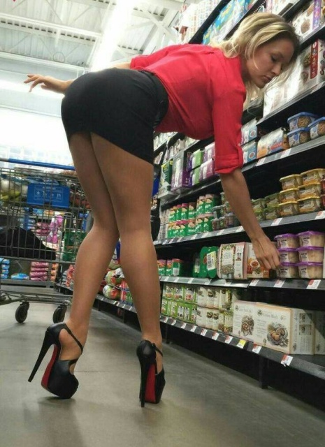 Sexy Girls at Shopping