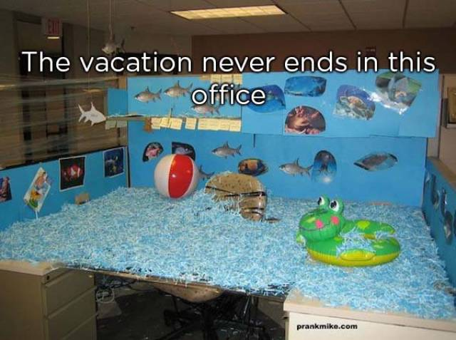 How To Troll Your Coworkers (27 pics)