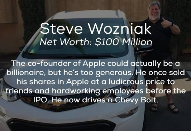 Cars Of These Billionaires Are Not That Expensive (17 pics)