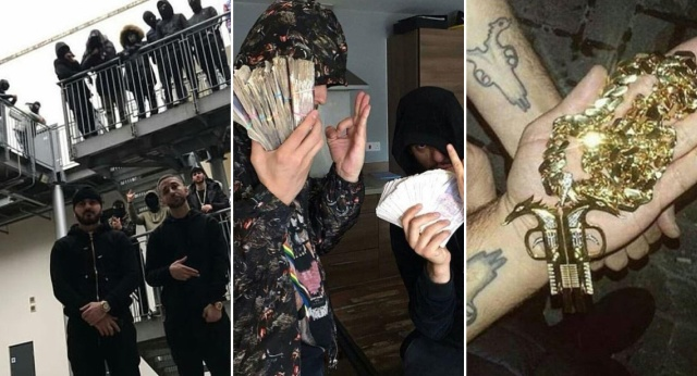 The Life Of Albanian Gang Members In London (17 pics)