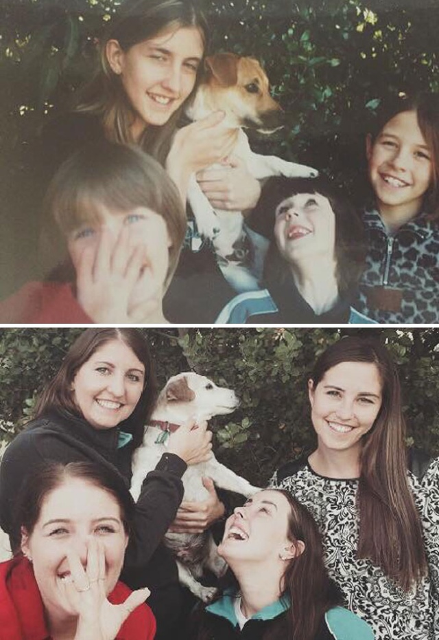 Then And Now Family Photos (20 pics)