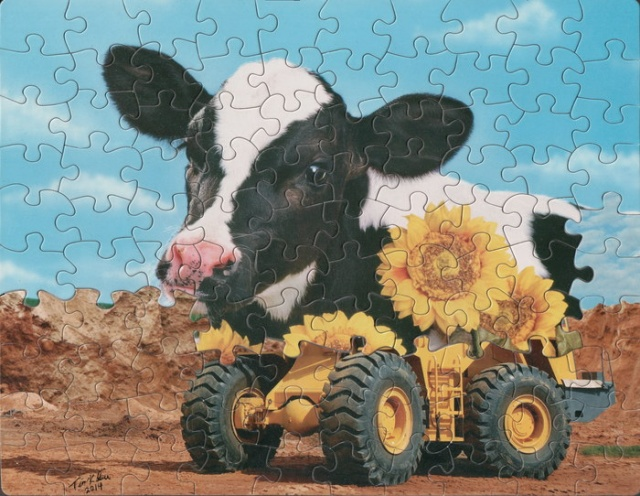 This Is What Happens When You Combine Different Puzzles (8 pics)