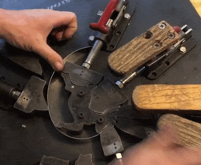 How Cookie Cutters Are Made (16 gifs)