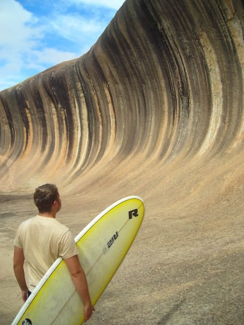 Wave Rock In Australia (9 pics)