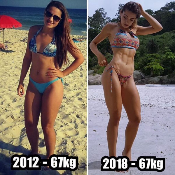 Women Who Lost Weight (19 pics)