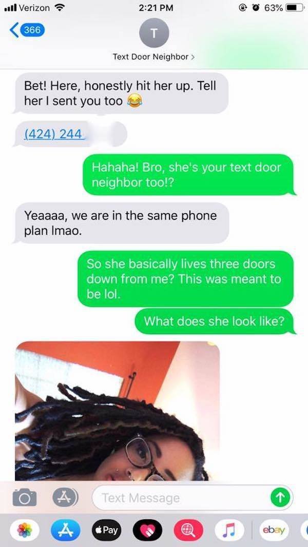 An Unexpected Turn Of Events After A Wrong Number Text (8 pics)