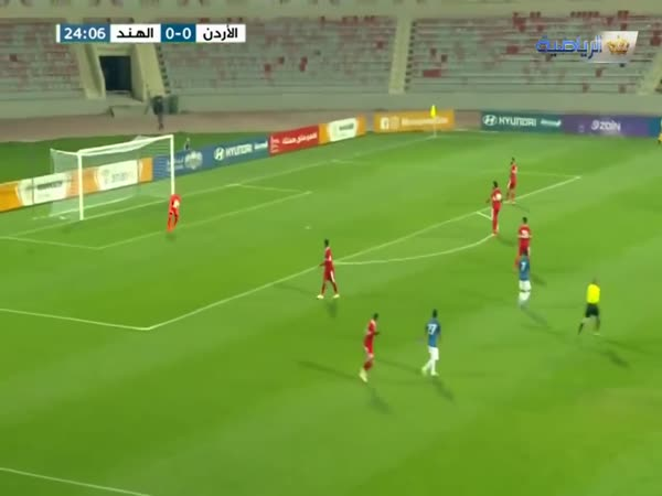 Goalkeeper Amer Shafi Scores Goal From His Own Goal Kick
