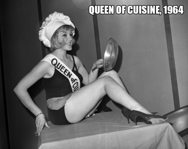 Beauty Pageant Queens of Food Industry From the Mid-20th Century (20 pics)