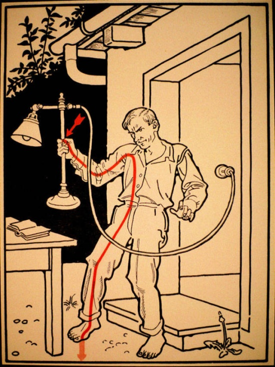 There Were Hundreds Of Ways To Get Electrocuted In The Beginning Of The 20th Century (29 pics)