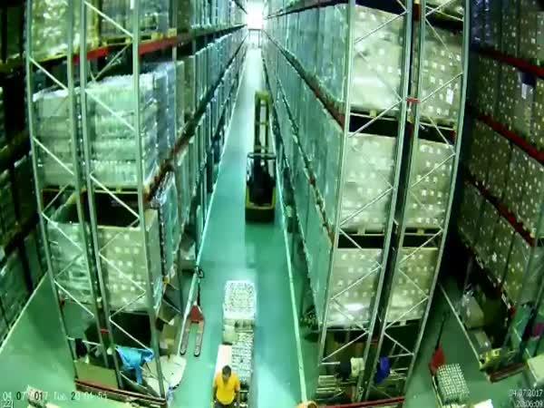 Warehouse Worker's Worst Nightmare