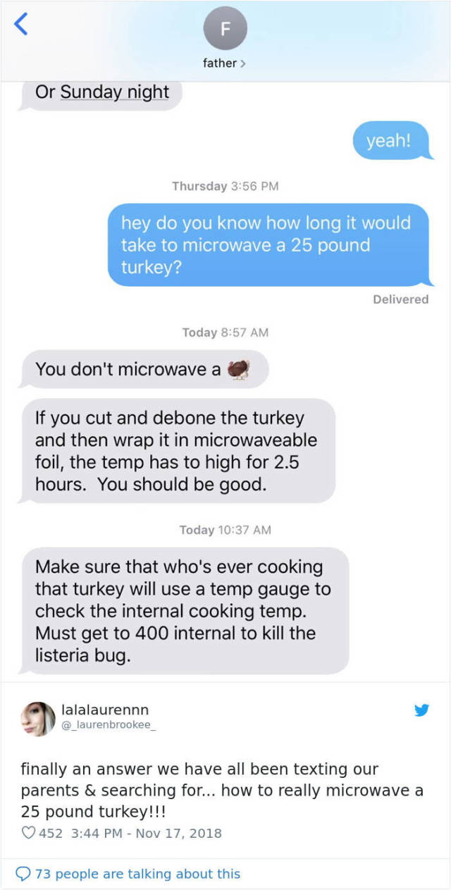 Ask Your Parents How To Cook A Turkey In A Microwave (32 pics)