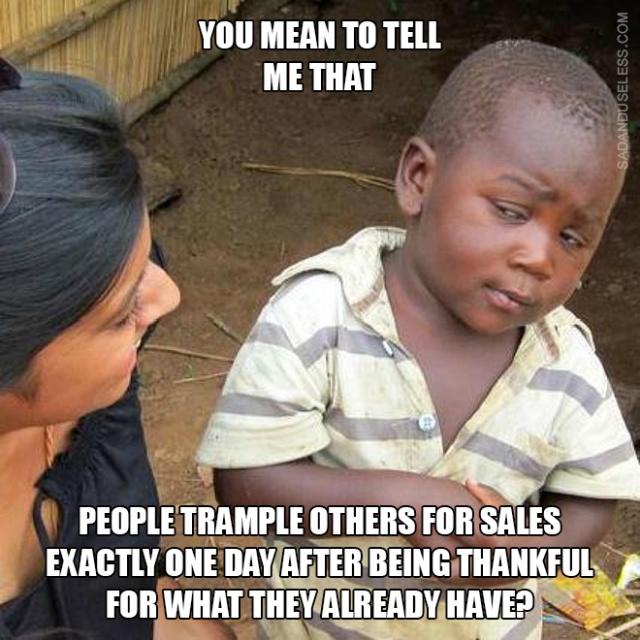 Funny Black Friday Memes (18 pics)
