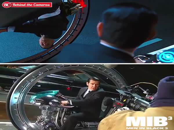 How 'Men In Black 3' Was Filmed