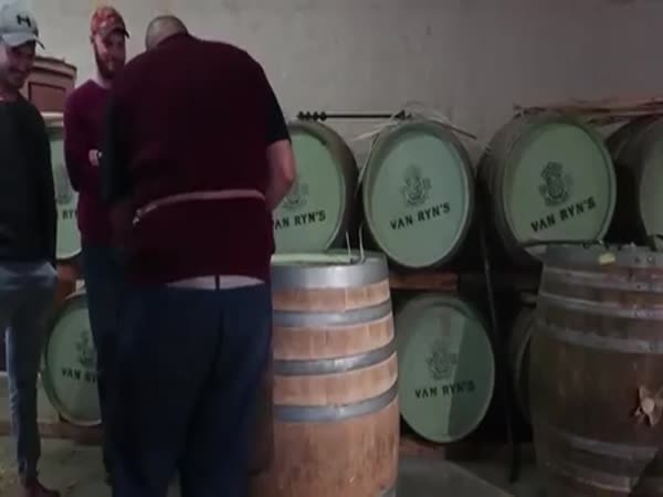 When You're A Barrel Maker But Music Is Life