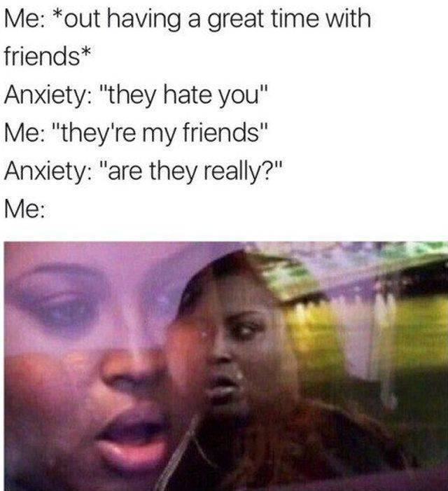 Memes About Anxiety (48 pics)