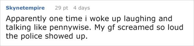 Girl Is So Creeped Out By What Her Boyfriend Says During His Sleep, She Shares Their Conversation Online (26 pics)