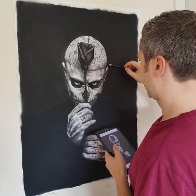 Artist Jon Arton Trolls People Who Ask For A Free Portrait (12 pics)