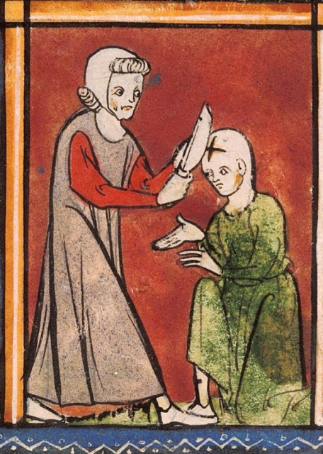 People Getting Stabbed In Medieval Art Who Just Don't Give a Damn (16 pics)