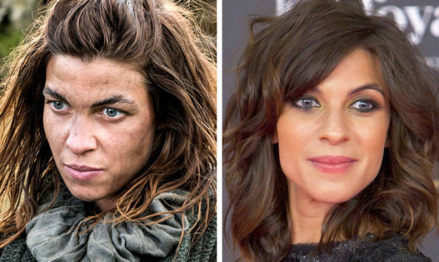 """Game Of Thrones"" Characters Without Makeup (16 pics)"