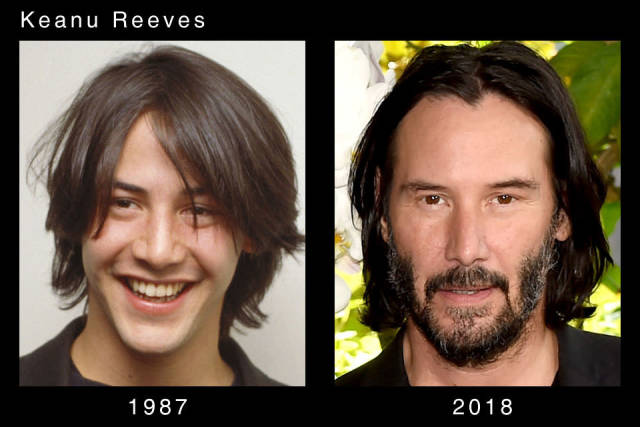How Actors Are Changing With Time (20 pics)