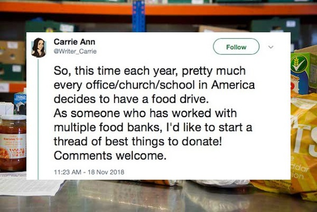 Stuff Food Banks Actually Need (17 pics)