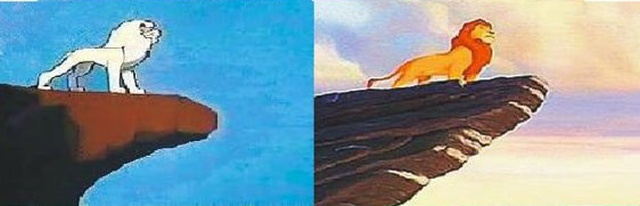"Japanese Anime ""White Lion Kimba"" (1965) vs ""The Lion King"" (1994) (5 pics)"