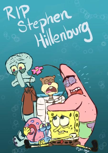Best Fan Tributes To The Late 'SpongeBob Squarepants' Creator Stephen Hillenburg (30 pics)