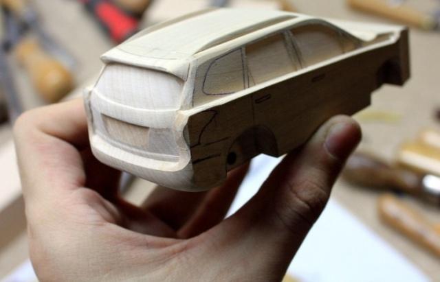 Wooden Subaru Forester (20 pics)