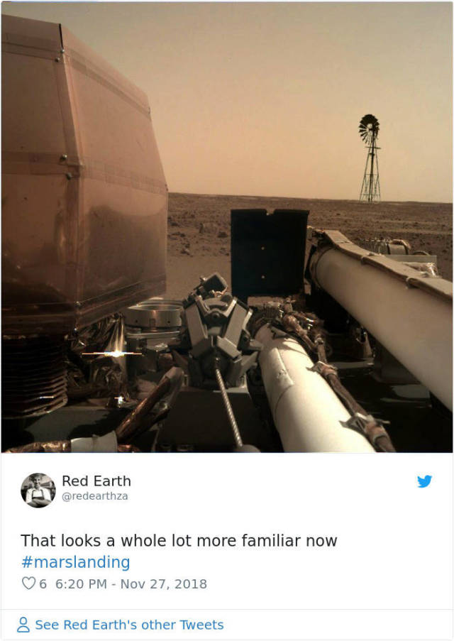 Memes About NASA's InSight's First Photos From Mars (45 pics)