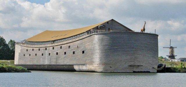 Dutch Man Built A $1.6 M Noah's Ark And Now Asks People For $1.3 M More To Ship It To Israel (8 pics)