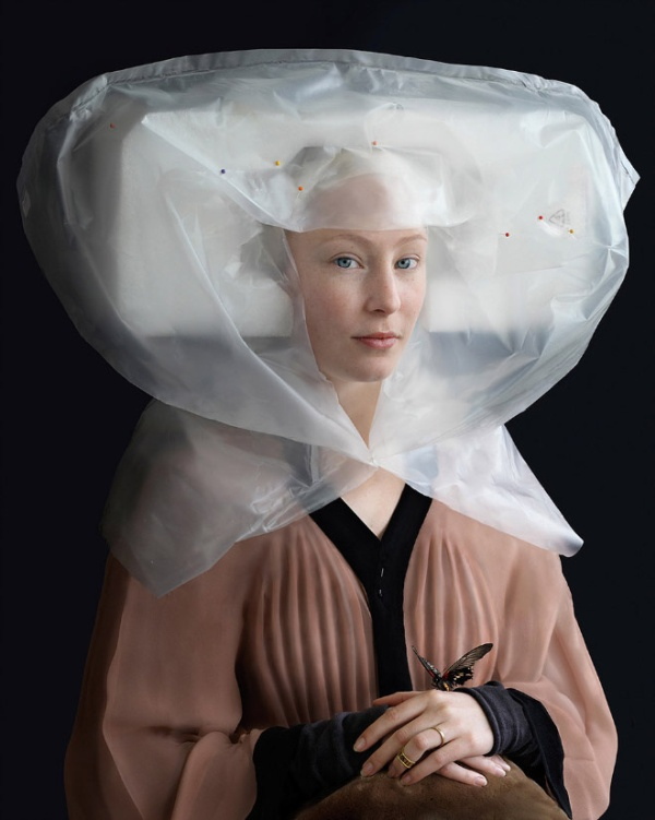 Artist Recreates Dutch Renaissance Paintings With Trash (17 pics)