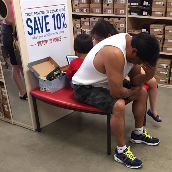 Men Are Not Good At Shopping (53 pics)