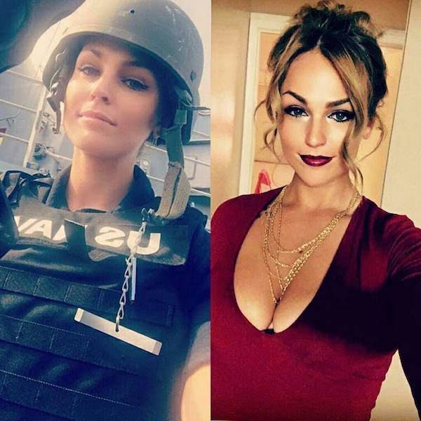 Hot Girls With And Without Uniform (27 pics)