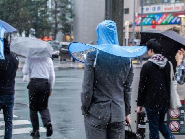 Hands-free Umbrella (5 pics)