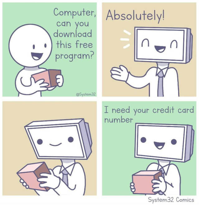 Comics About PC (7 pics)