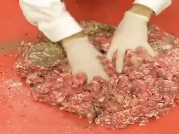Making Burger Like A Boss