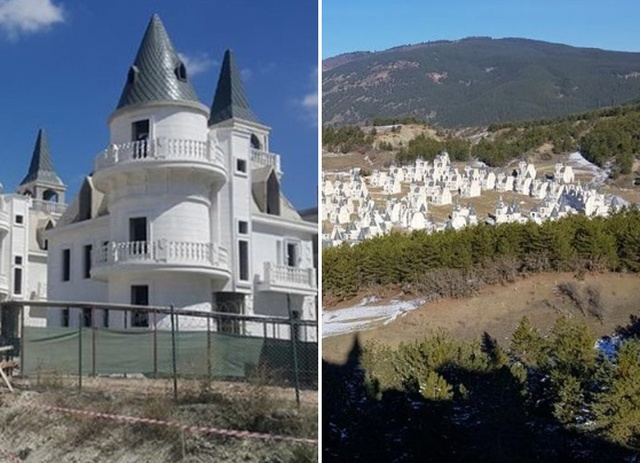 Builder of $200 Million Turkish Chateaux Project Goes Bankrupt (11 pics)