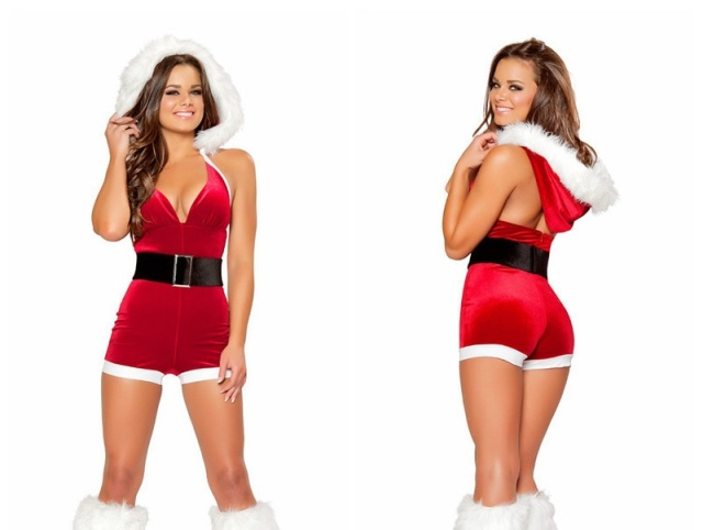 Hot Santa Costume. Expectation Vs Reality (2 pics)