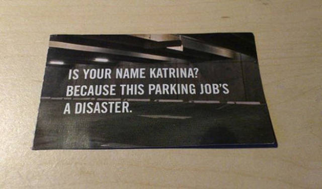 Passive Aggression Parking Notes (30 pics)