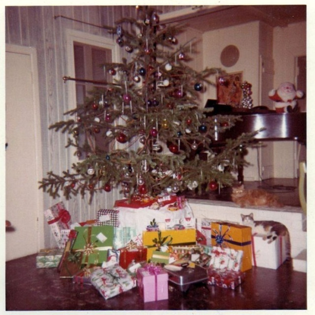 Photos Of Christmas Home Decor In The 1950s And 1960s (30 ...