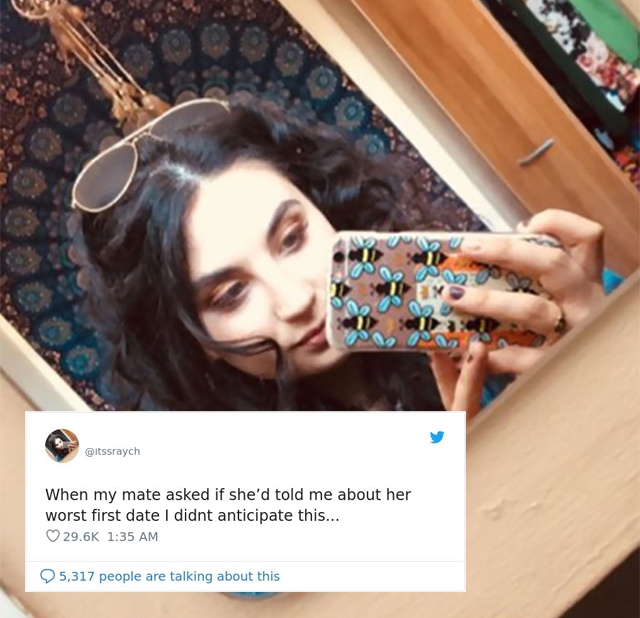 Worst Tinder Date Ever (6 pics)