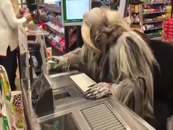 Average Austrian Supermarket At Christmas