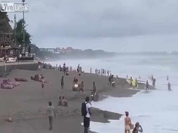 Locals In Bali Are Fed Up With Tourists Driving Scooters Along The Beach