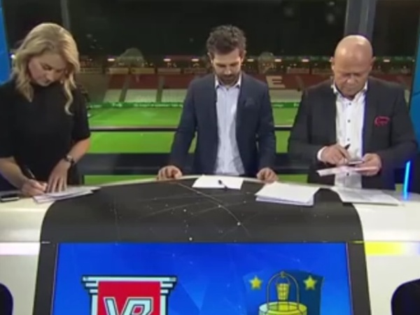 Danish Sports Anchor Farts During Live Broadcast